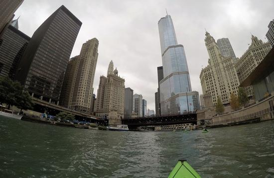 Chicago River Kayaking