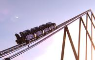 Six Flags Qiddiya's record-breaking Falcon's Flight roller coaster.