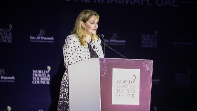 Gloria Guevara Manzo, presidente y CEO del Consejo Mundial de Viajes y Turismo