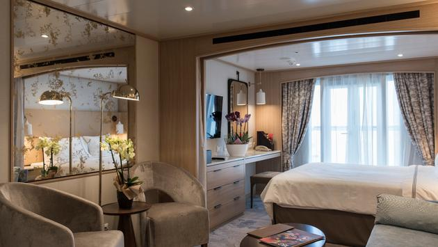A suite on the renovated Star Breeze.