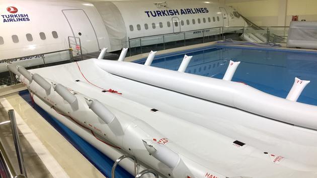 Piscine du Centre d'entraînement de Turkish Airlines.
