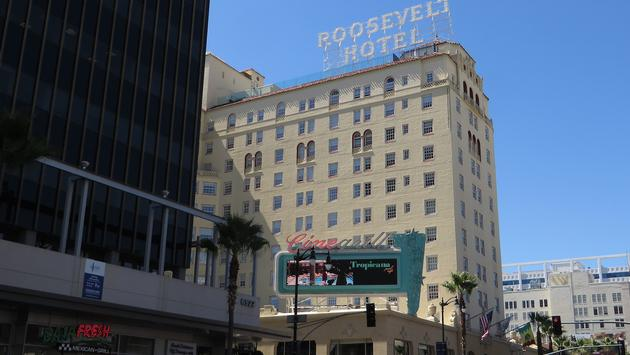 The Hollywood Roosevelt hotel