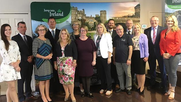 La délégation de Visit Ireland