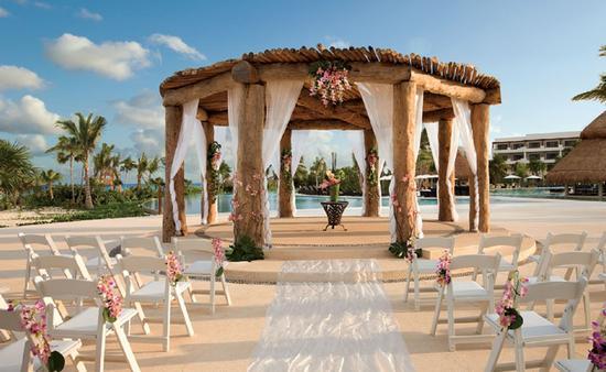 Wedding gazebo at Secrets Maroma Beach Riviera Cancun