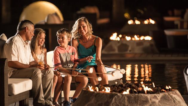 Hyatt Ziva Los Cabos, family, family vacation, s'mores