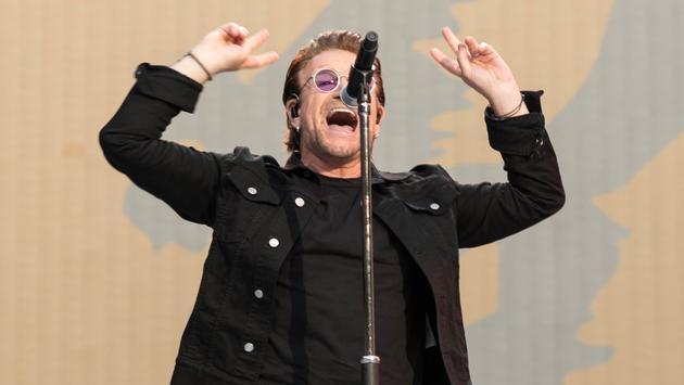 U2 in London
