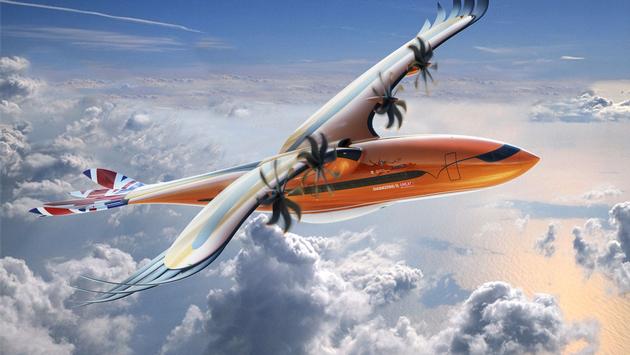 Airbus' Bird of Prey Concept Aircraft