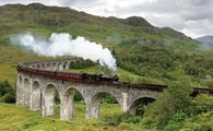 Jacobite Steam Train, Scotland