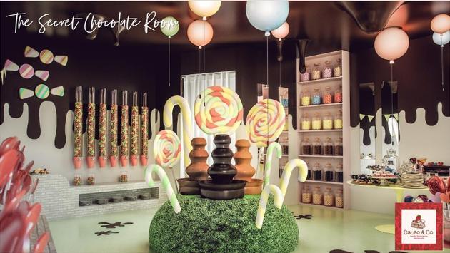 The Secret Chocolate Room, Club Med Michès Playa Esmeralda