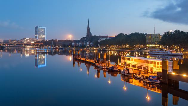 River Weser, Bremen, Germany