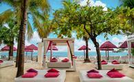 Beach area at Grand Sens Cancun