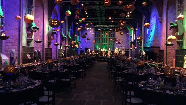 hogwarts after dark