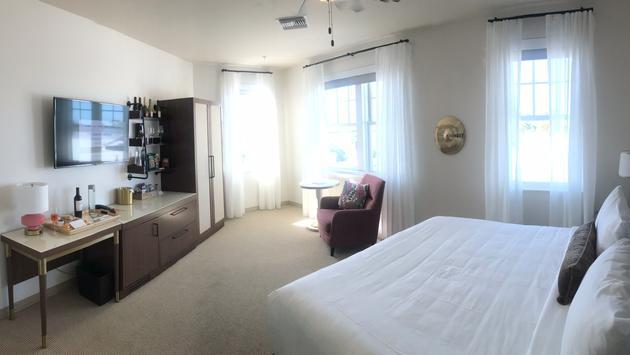 Fenway Hotel Room, Dunedin, Florida