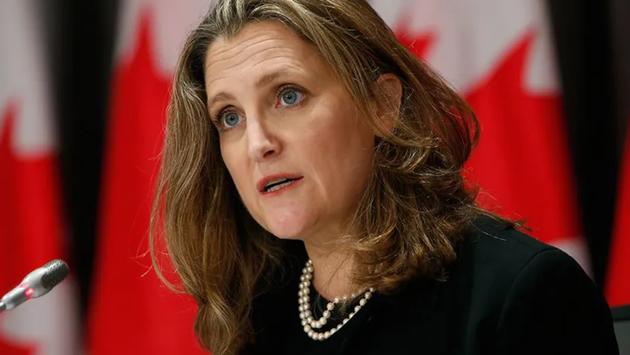 Canadian Finance Minister Chrystia Freeland