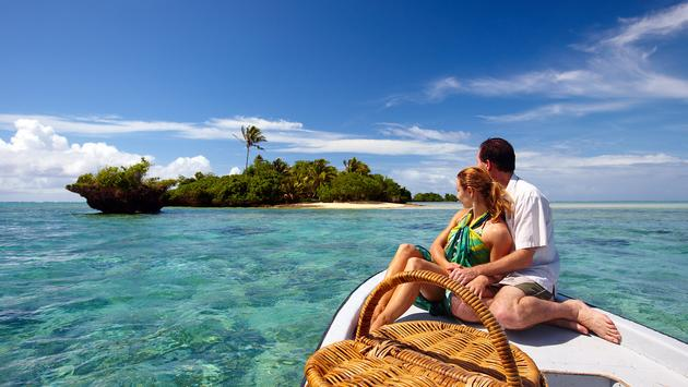 Fiji, Couple, Boat, private island, romantic, ocean, island, sea