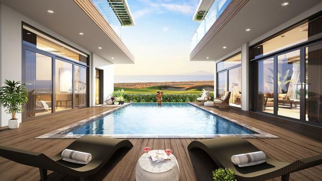 Wyndham, pool, rendering, hotel