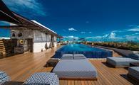 Rooftop pool at Live Aqua Playa Del Carmen