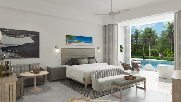 New suite at Sandals Royal Barbados