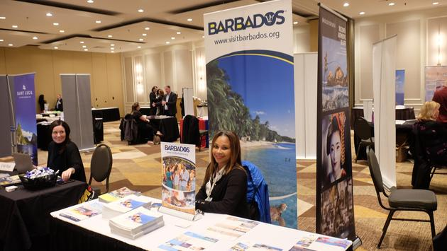 Barbados Tourism Booth, Travel Leaders Network Conference