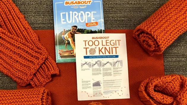Busabout Charity Knitting Program