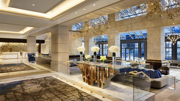 Lobby du Fairmont Washington