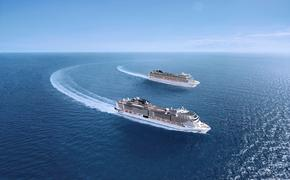 MSC Grandiosa and Magnifica