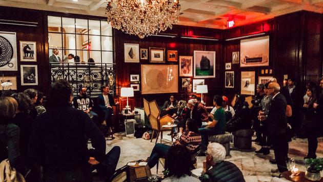 Adolphus Hotel Salon Series