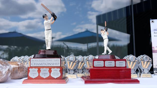 Goway Travel Air New Zealand Cricket Trophies