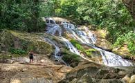 Bocawina national park, belize, waterfalls