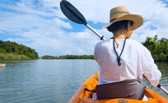 Belize, kayaking, river