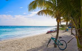 Mahahual beach in Quintana Roo
