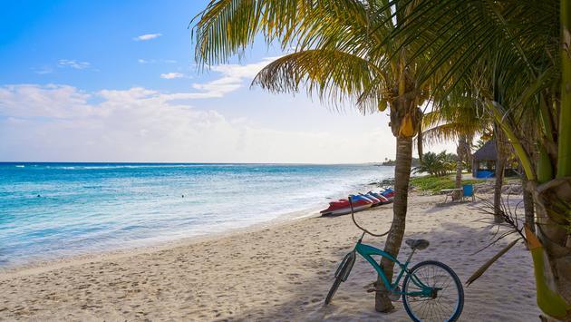 Mahahual beach in Quintana Roo