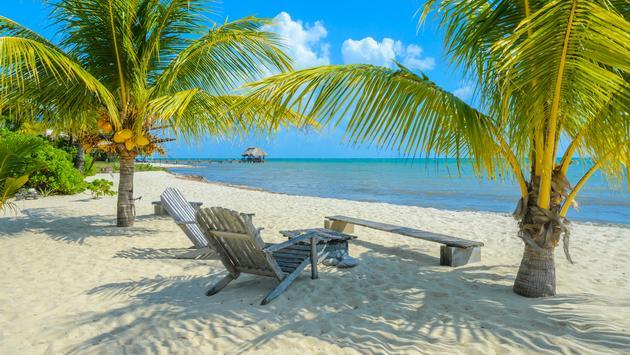Placencia, Belize, beach
