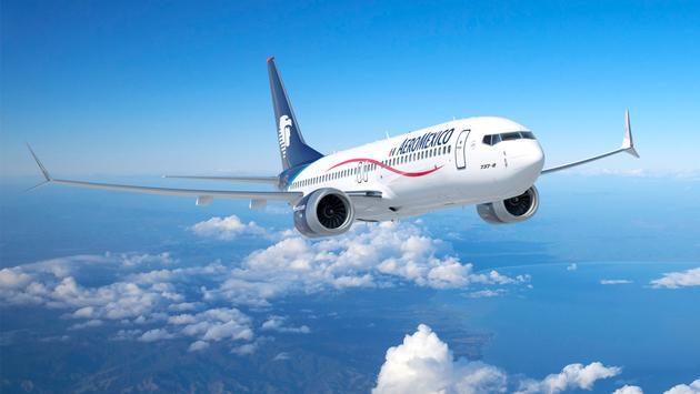 Para 2022, Aeroméxico operará 130 aviones, al sumar 24 nuevos equipos Boeing. (Foto de Aeroméxico).