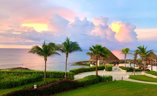 Sunrise at Hard Rock Hotel Riviera Maya