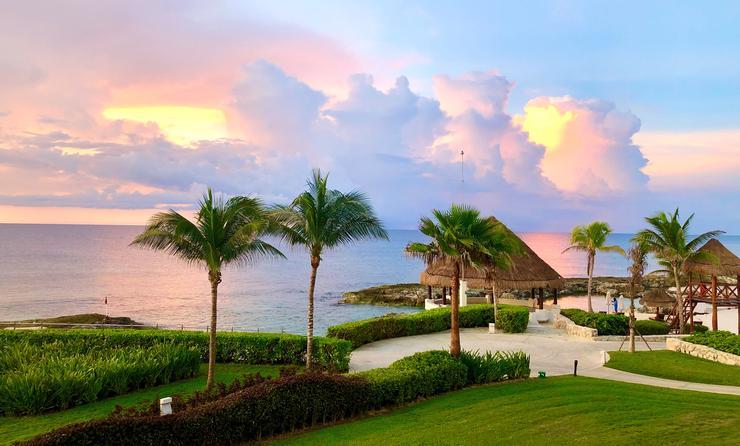 Sunrise at Hard Rock Hotel Riviera Maya
