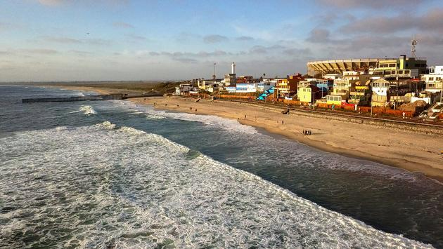 Tijuana, Mexico, beach