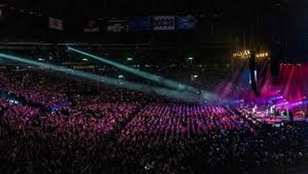 Los conciertos en grandes foros son comunes en la industria del entretenimiento. (Foto Ticketmaster)