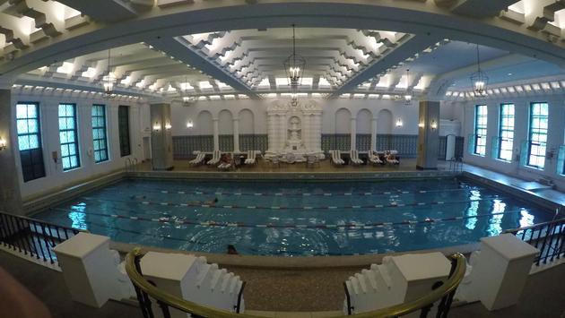 Intercontinental Hotel Pool, Chicago