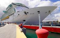 Royal Caribbean International's Freedom of the Seas docked in San Juan, Puerto Rico