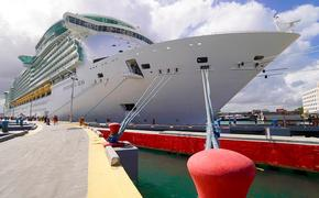 Royal Caribbean International's Freedom of the Seas docked in San Juan, Puerto Rico