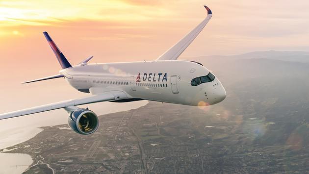 Delta Air Lines plane.