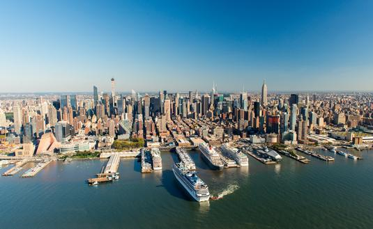 Manhattan, Cruise, Terminal