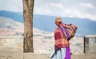 Woman in Bolivia