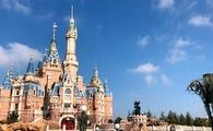 Enchanted Storybook Castle at Shanghai Disneyland in China