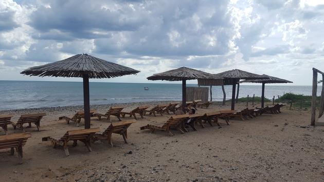 Beach in La Guajira Colombia
