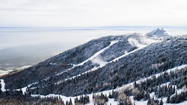 Le Massif, Charlevoix, Quebec