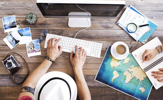 Travel planning on the computer