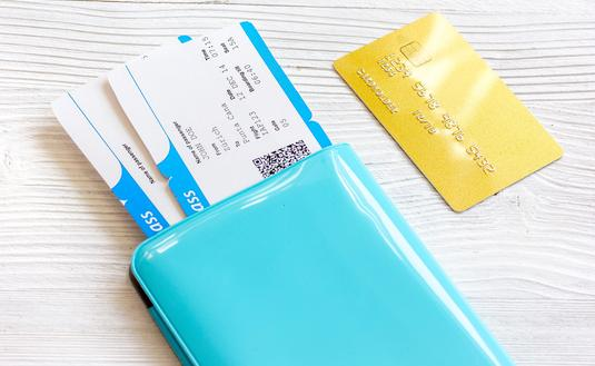Airline tickets and credit card