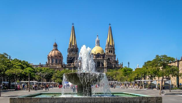 Guadalajara Cathedral - Mexico
